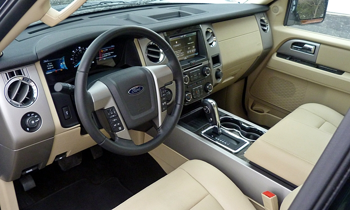 Chevrolet Tahoe / Suburban Photos: Ford Expedition Limited interior