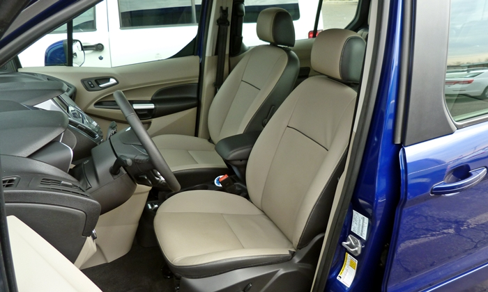 Ford Transit Connect Photos: Ford Transit Connect driver seat
