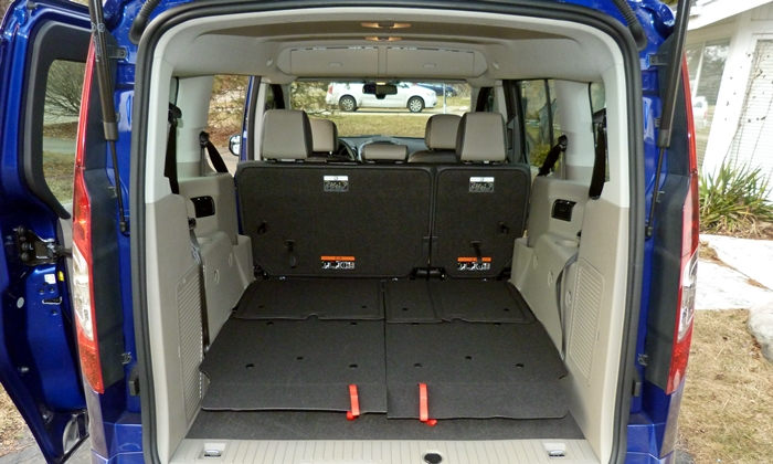 ford transit connect photos ford transit connect cargo area third row folded. Black Bedroom Furniture Sets. Home Design Ideas