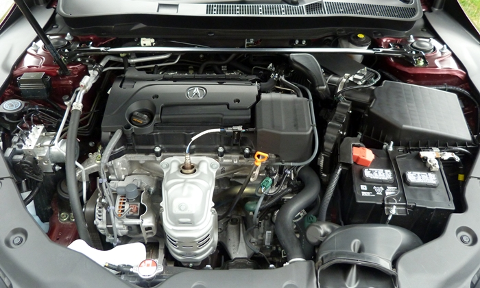 Acura TLX Photos: Acura TLX engine