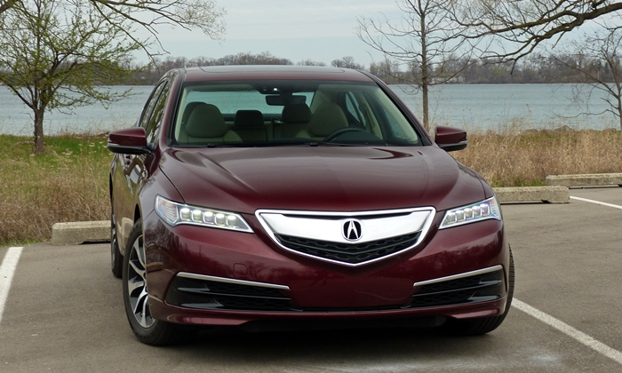 TLX Reviews: Acura TLX front view