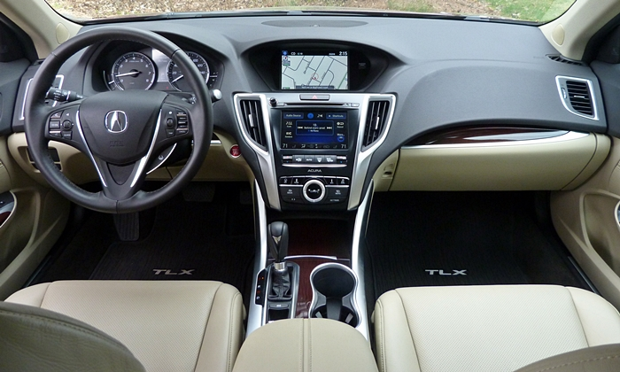 Acura TLX Photos: Acura TLX instrument panel full