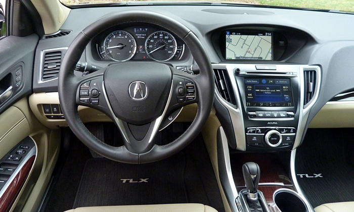 TLX Reviews: Acura TLX instrument panel