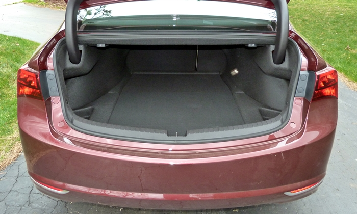 TLX Reviews: Acura TLX trunk