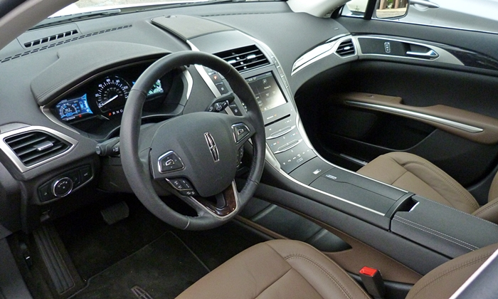 Acura TLX Photos: Lincoln MKZ interior