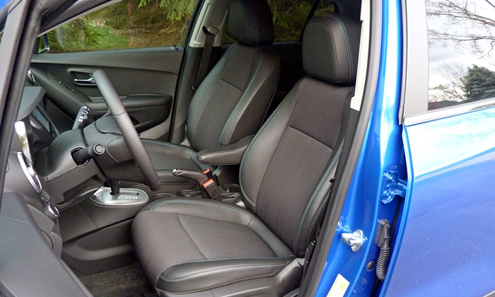Chevrolet Trax Photos: Chevrolet Trax driver seat