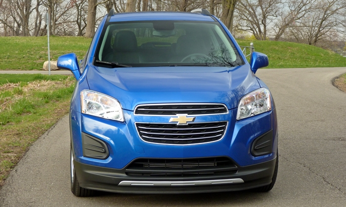 Chevrolet Trax Photos: Chevrolet Trax front view