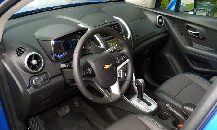 Chevrolet Trax Photos: Chevrolet Trax interior