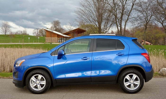 Chevrolet Trax Photos: Chevrolet Trax side view