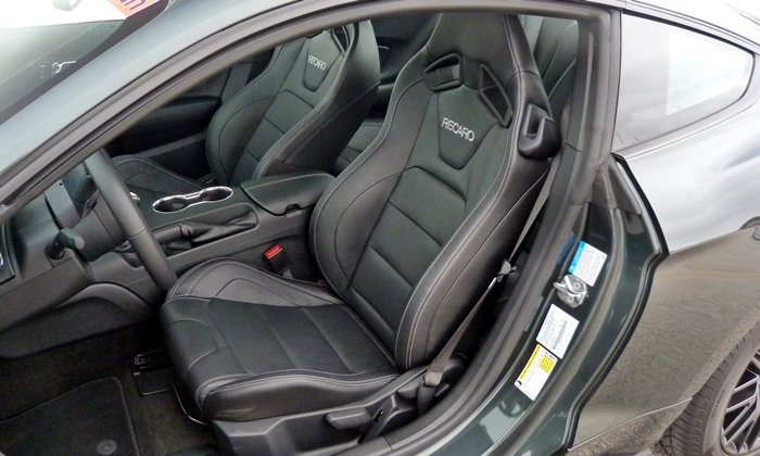 Ford Mustang Photos: 2015 Ford Mustang GT Recaro driver seat