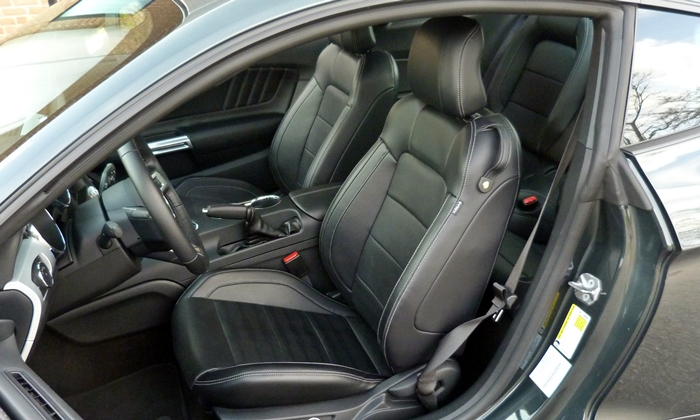 Ford Mustang Photos: 2015 Ford Mustang GT driver seat