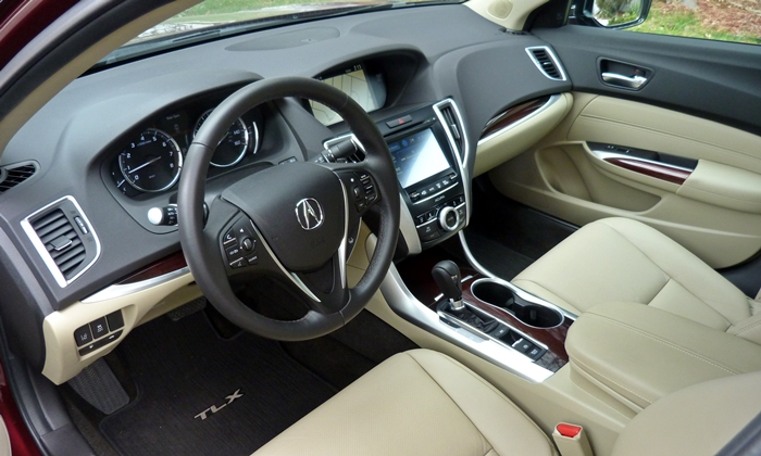 Nissan Maxima Photos: 2015 Acura TLX interior