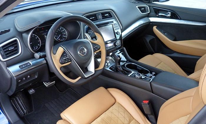 Maxima Reviews: 2016 Nissan Maxima SR Interior