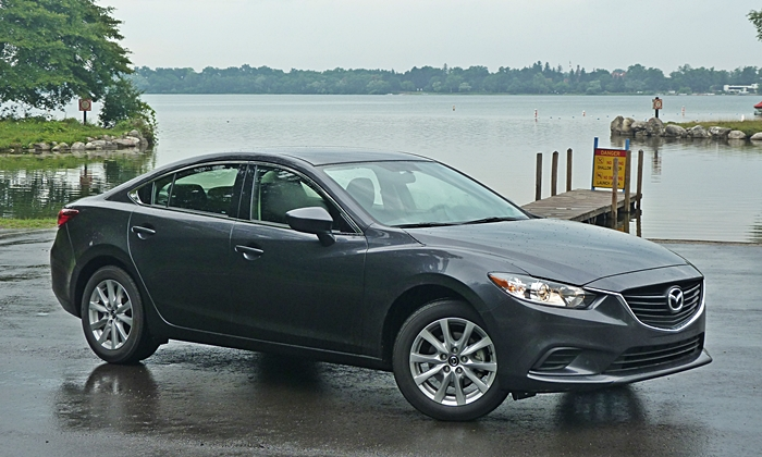 Nissan Maxima Photos: Mazda6 front quarter view