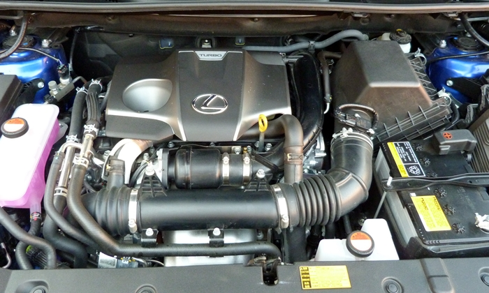 NX Reviews: Lexus NX 200t engine uncovered