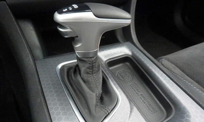 Dodge Charger Photos: Dodge Charger R/T shifter and console trim