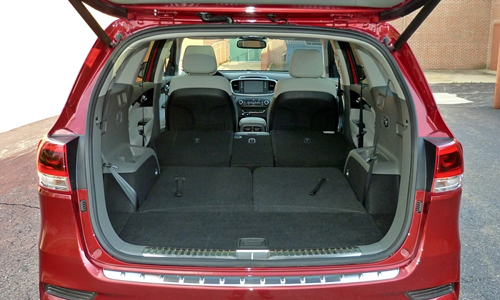 Kia Sorento Cargo Area. Kia. Circuit Diagrams