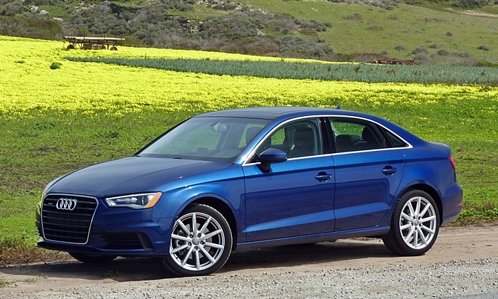 Acura ILX Photos: Audi A3 front quarter view