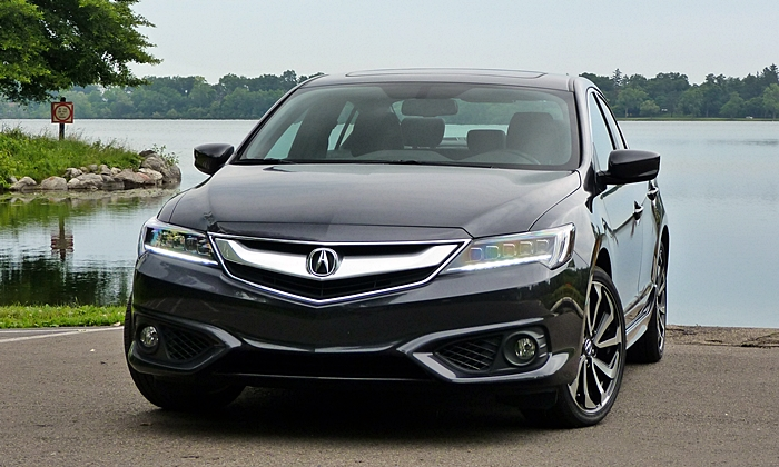 ILX Reviews: Acura ILX front view