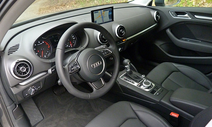 Acura ILX Photos: Audi A3 interior
