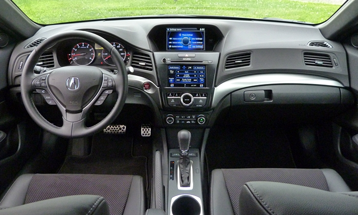 Acura ILX Photos: Acura ILX instrument panel full width