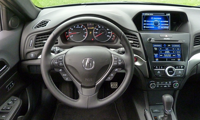 ILX Reviews: Acura ILX instrument panel