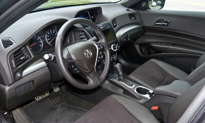 ILX Reviews: Acura ILX interior