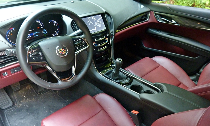 Mercedes-Benz C-Class Photos: Cadillac ATS interior