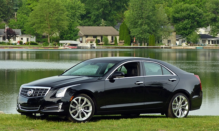 Mercedes-Benz C-Class Photos: Cadillac ATS front quarter view