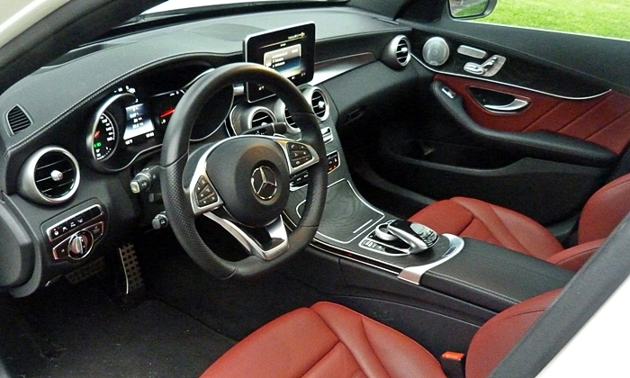 2015 mercedes benz c class pros and cons at truedelta for Mercedes benz c300 red interior