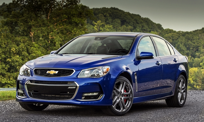 Chevrolet SS Photos: 2016 Chevrolet SS front quarter view