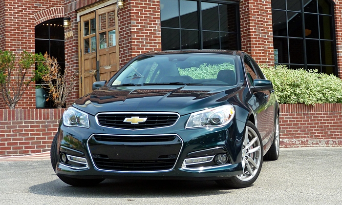 SS Reviews: Chevrolet SS front view