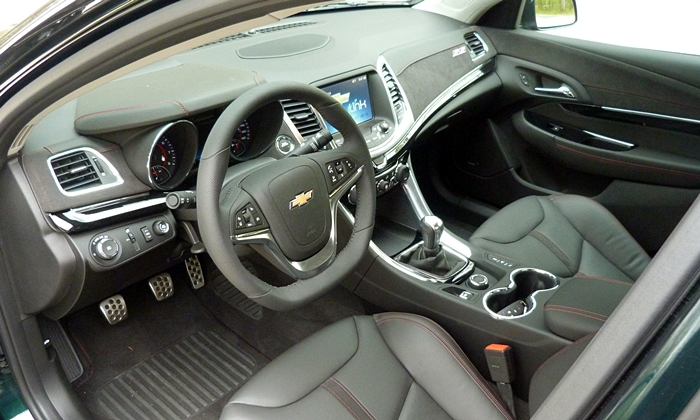 SS Reviews: Chevrolet SS interior