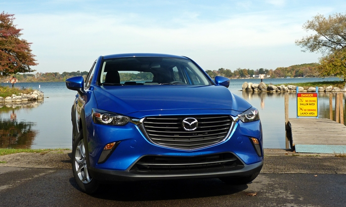 CX-3 Reviews: Mazda CX-3 front view