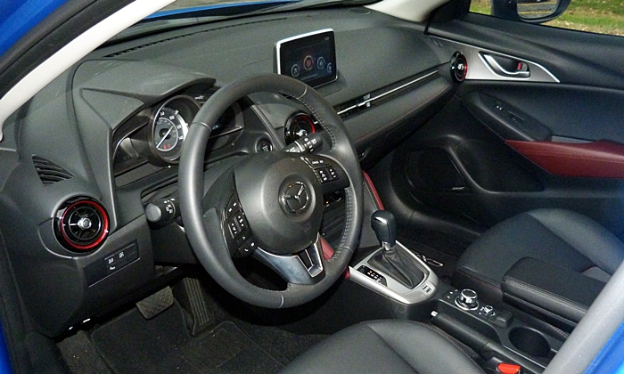 CX-3 Reviews: Mazda CX-3 interior