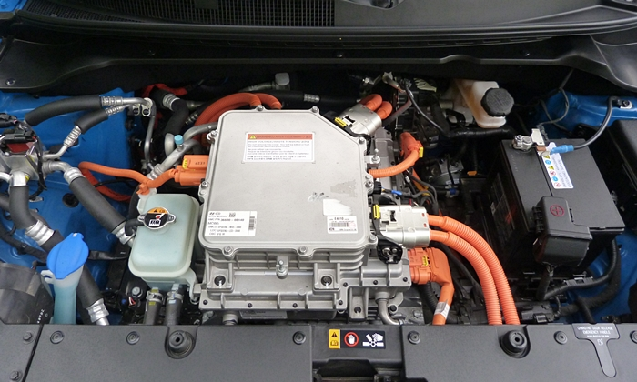 Soul Reviews: Kia Soul EV electric motor uncovered