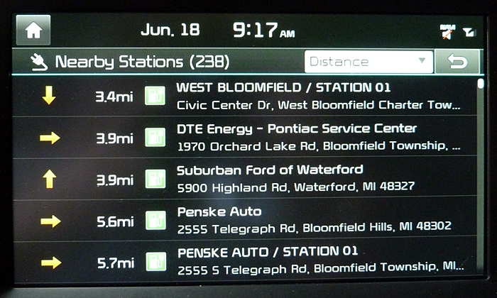 Kia Soul Photos: Kia Soul EV nearby charging stations list