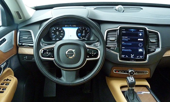 XC90 Reviews: 2016 Volvo XC90 instrument panel