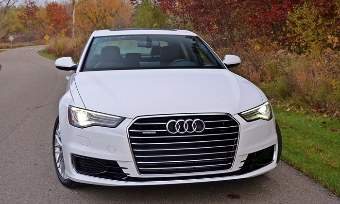 A6 / S6 Reviews: Audi A6 front view