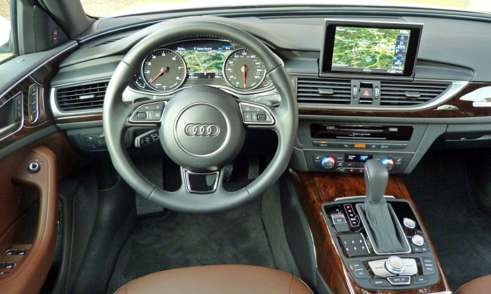A6 / S6 Reviews: Audi A6 instrument panel