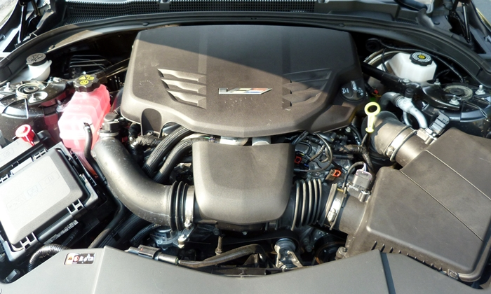 ATS Reviews: Cadillac ATS-V engine