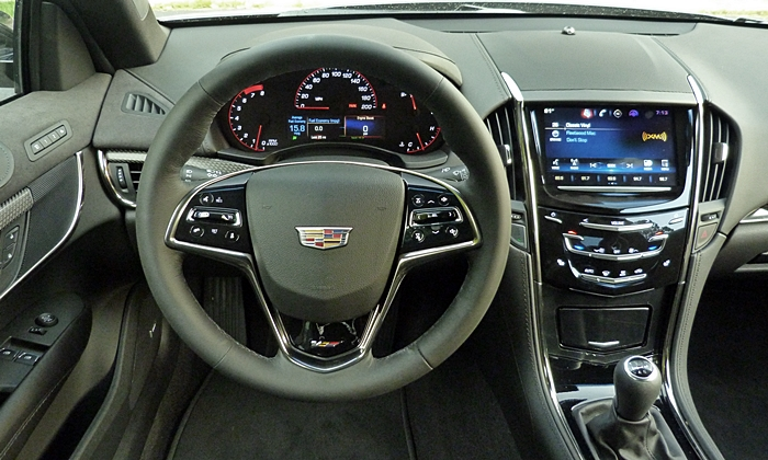ATS Reviews: Cadillac ATS-V instrument panel