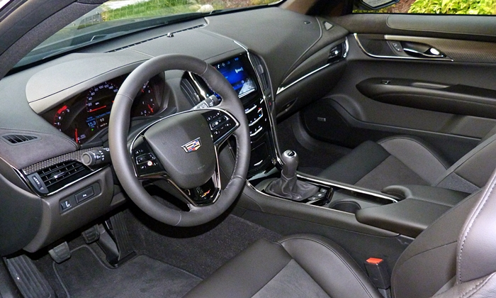 ATS Reviews: Cadillac ATS-V interior