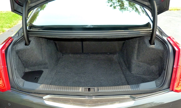 ATS Reviews: Cadillac ATS-V coupe trunk