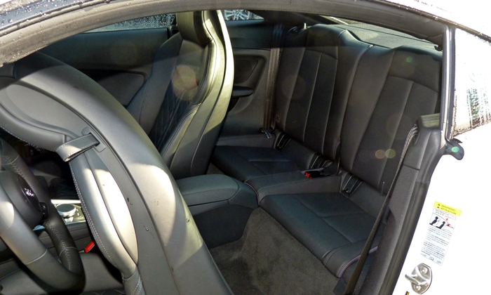 TT Reviews: Audi TT rear seat