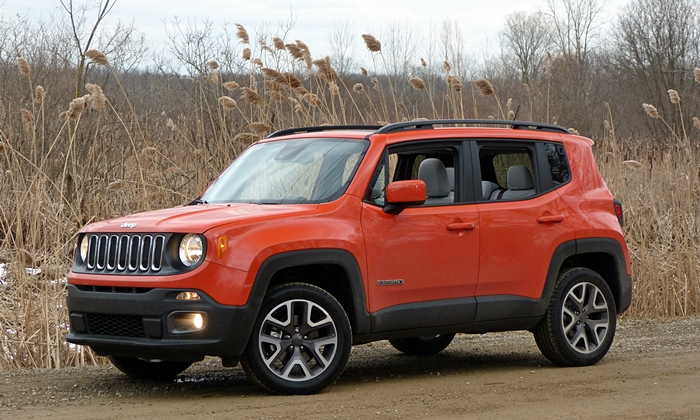 Jeep Renegade front quarter view