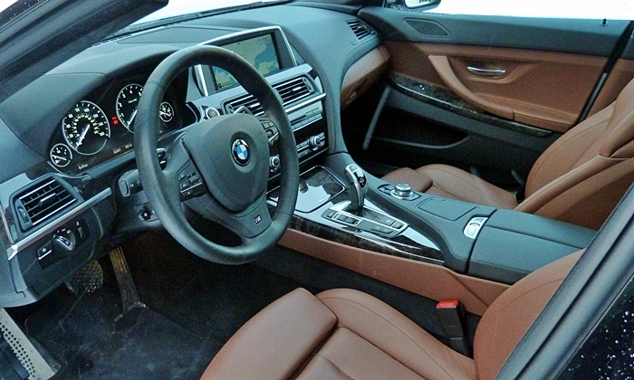 Jaguar XF Photos: BMW 6 Series Gran Coupe interior