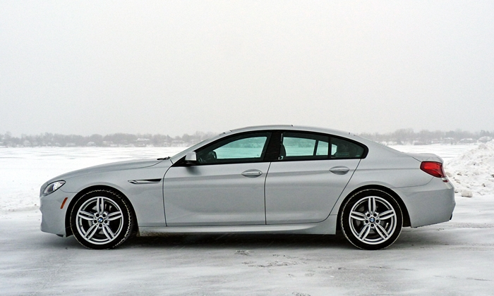 Jaguar XF Photos: BMW 6 Series Gran Coupe side view