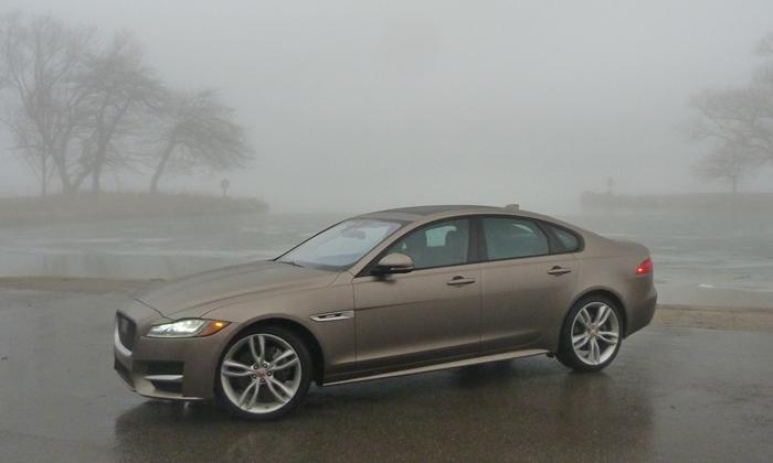 Jaguar XF front quarter