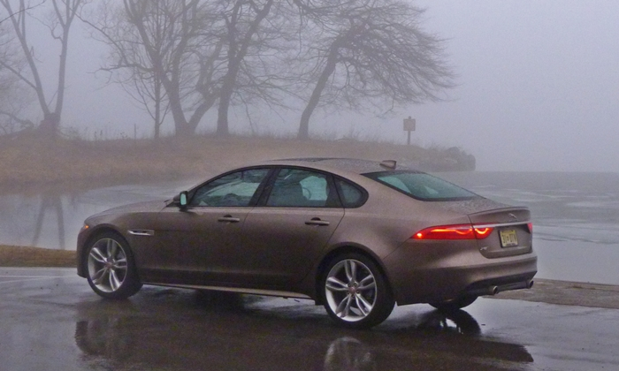 XF Reviews: Jaguar XF rear quarter